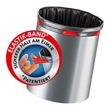 Fixierband-Müllbeutel
