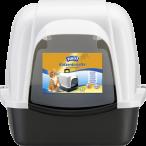 Swirl® Katzentoilette mit Geruchsfilter