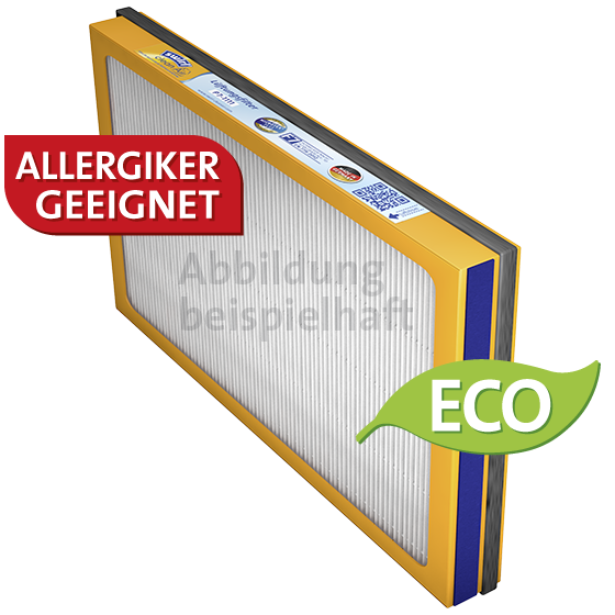 Lüftungsfilter Helios KWL EC 300 Pro